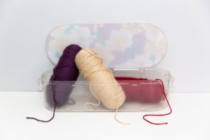 Nykia Designs - Koribox for Crafting, Sewing, and Knitting Storage